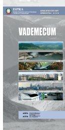 Vademecum 2008 - Annuario dei dati ambientali - Ispra