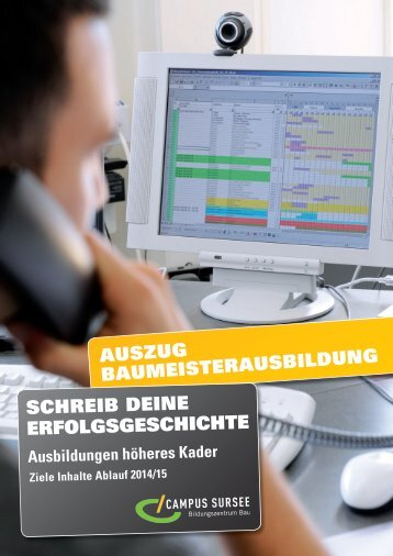 download - CAMPUS SURSEE Bildungszentrum Bau AG
