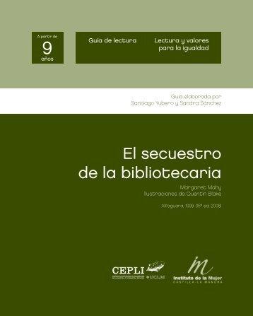 """guía """"El secuestro de la biblilotecaria"""""""