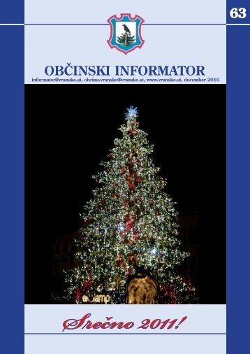 Obcinski informator st. 63 - Občina Vransko