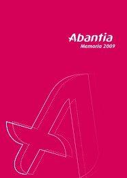 Memoria 2009 - Abantia