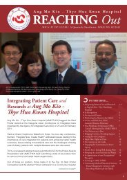 AMK-THKH Newsletter Issue 2 of 2011 - Thye Hua Kwan Hospital