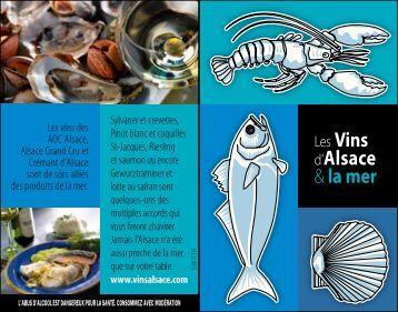 Carte accords Produits de la Mer et Vins d ... - Les Vins d'Alsace