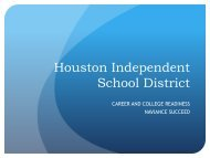 Naviance College Prep Management Tool - Houston Independent ...