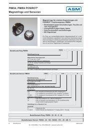 PMIS4, PMIR4 POSIROT® Magnetringe und Sensoren - ASM GmbH