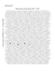 arXiv:hep-ex/0308012 v1 5 Aug 2003 - Aldebaran