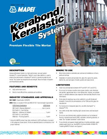 Kerabond - Northland Construction Supplies
