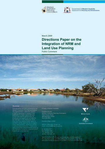Directions Paper - Western Australian Planning Commission