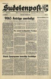 9065 Anträge unerledigt - Sudetenpost