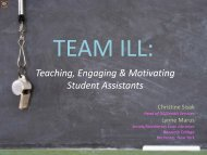Teaching, Engaging & Motivating Student Assistants - Atlas Systems