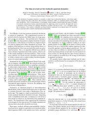 arXiv:quant-ph/0411185 v1 26 Nov 2004 - Physics - University of ...