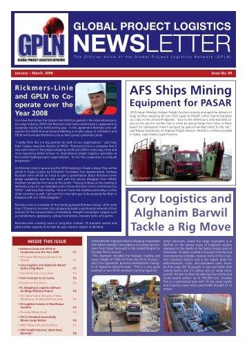 newsletter - Global Project Logistics Network