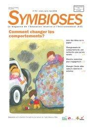 Télécharger le Symbioses entier (PDF 756Ko)