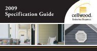 2009 Specification Guide - Huttig Building Products