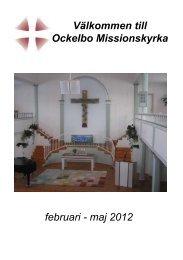 Bön för Ockelbo - Svenska Missionskyrkan
