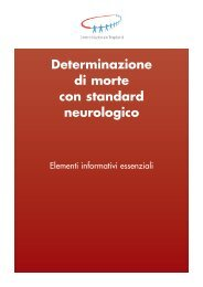 Determinazione di morte con standard ... - TimeOut intensiva