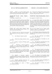 ČÁST 1 - Hlava E JAR-OPS 3 SECTION 1 - Subpart E Vydáno ...