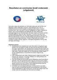 Resultaten en conclusies Israël onderzoek - Evangelische Omroep