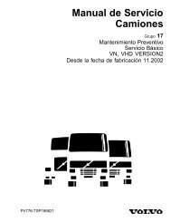 Manual de Servicio Camiones - Volvo Trucks