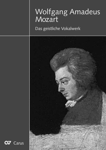 Wolfgang Amadeus Mozart
