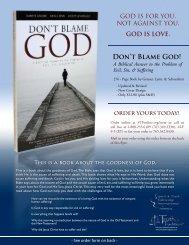Don't Blame God! - Spirit & Truth Fellowship International