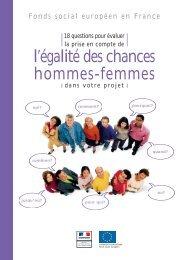 l'égalité des chances hommes-femmes - CRESS PACA