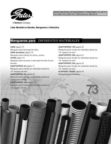 Para DIFERENTES MATERIALES - LSR Distribuidor