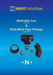 Malleable Iron & Butt-Weld Pipe Fittings - Econosto Mideast