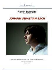 johann sebastian bach - Studiomusica