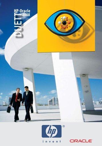 HP - Oracle 2008 kiadvány - HP - Magyarország - Hewlett-Packard
