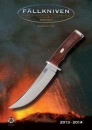 Fallkniven catalogue - Technical Outdoor