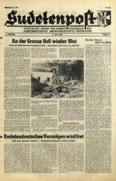 Ausgabe 14 - Sudetenpost