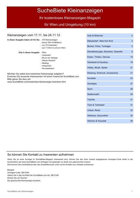 Bekanntschaften in Wien - Partnersuche & Kontakte