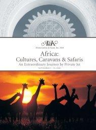 Africa: - Luxury Territory