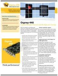 download viewcast osprey-440 brochure - Go Electronic