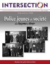 Intersection, no 27 - août 2005 - Ministère de la Sécurité publique