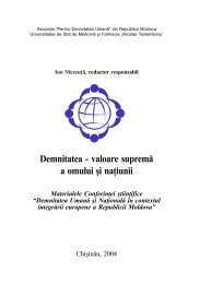 Demnitatea - valoare supremă a omului şi naţiunii - Ion Mereuta