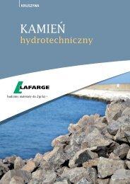 Kamień hydrotechniczny - ulotka - Lafarge