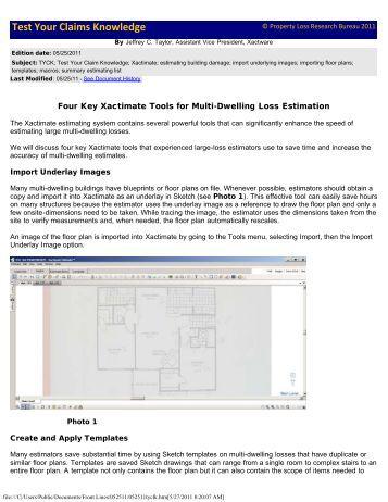 Xactimate manual pdf