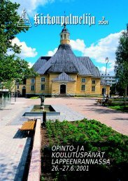 KP-LEHTI 2/2001 /pdf ksi - Kirkonpalvelijat ry
