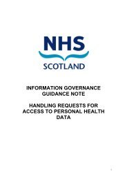 Handling Requests For Access To Personal Health Data - eHealth