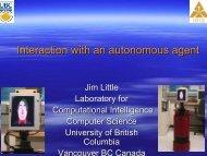 Interaction with an autonomous agent - David Vernon