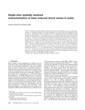 Single-shot spatially resolved characterization of laser-induced ...