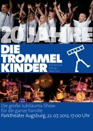 Download Flyer - Die Trommelkinder