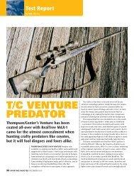 T/C VENTURE PREDATOR - Frontier Arms