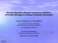 Genetic Algorithm SAmple Consensus (GASAC) - A ... - Rodehorst.info
