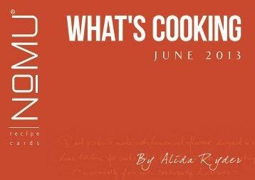 NoMU Recipe Cards 201306 June Featuring Alida Ryder, May [1 MB]