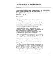 Skogsstyrelsens författningssamling