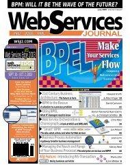 Web Services Edge 2003 - public PDF download area - SYS-CON ...