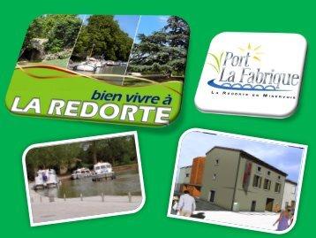 Halte-nautique - La Redorte